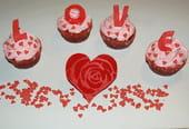 Cupcakes des amoureux (Saint-Valentin)