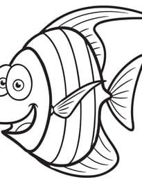 Petit poisson rigolo