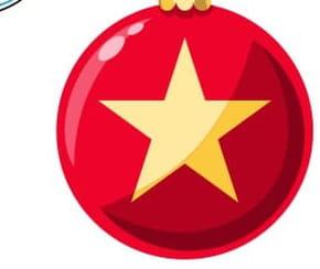 Dessiner une boule de Noël
