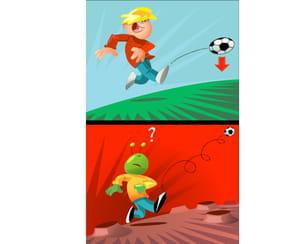 Peut-on jouer au foot sur Mars?