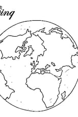 Coloriage 5 continents