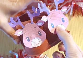 Étape 5: Placez les rennes sur le traineau