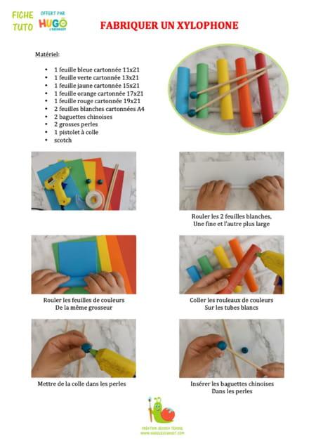 comment-fabriquer-un-xylophone-en-papier