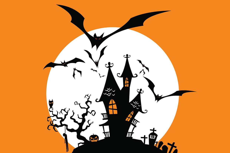 coloriage halloween chauve souris sur. Black Bedroom Furniture Sets. Home Design Ideas