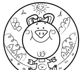 Animaux du monde, le petit cochon