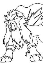 Coloriage Pokemon Entei En Ligne Gratuit A Imprimer
