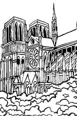 Coloriage Notre Dame en Ligne Gratuit à imprimer