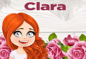 Clara : prénom de fille lettre C