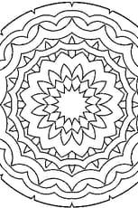 Coloriage à Mandala
