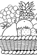 Coloriage Fruits