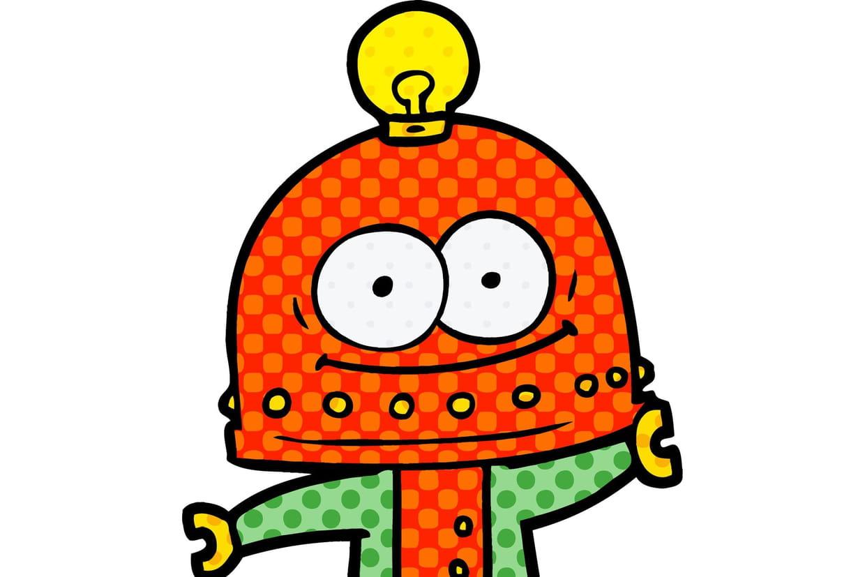 Coloriage Robot Sur Hugolescargot Com