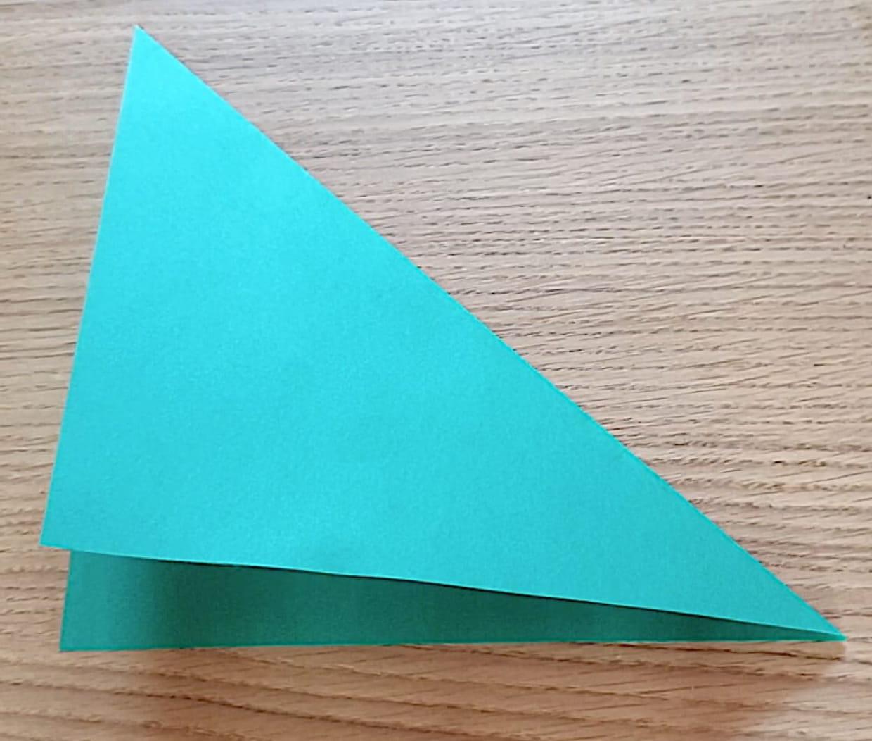 Fabriquer Sapin De Noel En Papier sapin de noël en origami, pliage papier