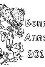 Coloriage Bonne Année 2014 en Ligne Gratuit à imprimer