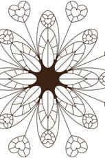 Coloriage Mandala floral en Ligne Gratuit à imprimer