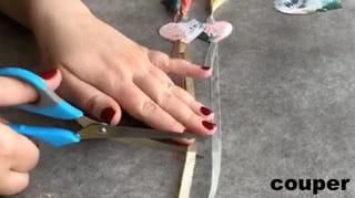 Étape 6: égalisez les longueurs des rubans