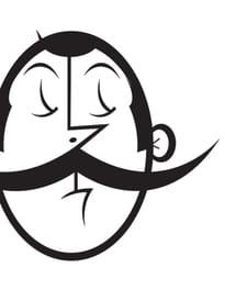 Portrait Big Moustache