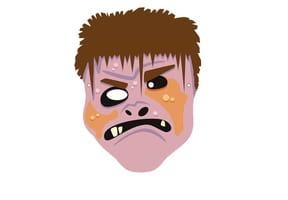Masque de Quasimodo pour Halloween