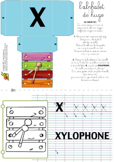 lettre-alphabet-x-apprendre-a-ecrire