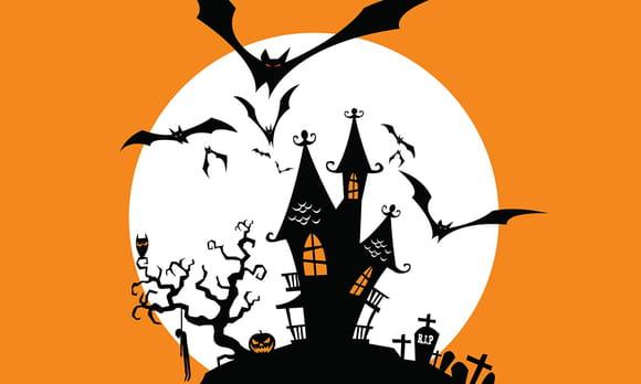 Coloriage halloween chauve souris sur - Coloriage souris ...