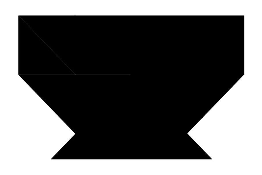 Le tangram niveau difficile, un bol