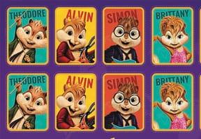 Jeux à imprimer Alvin et les Chipmunks