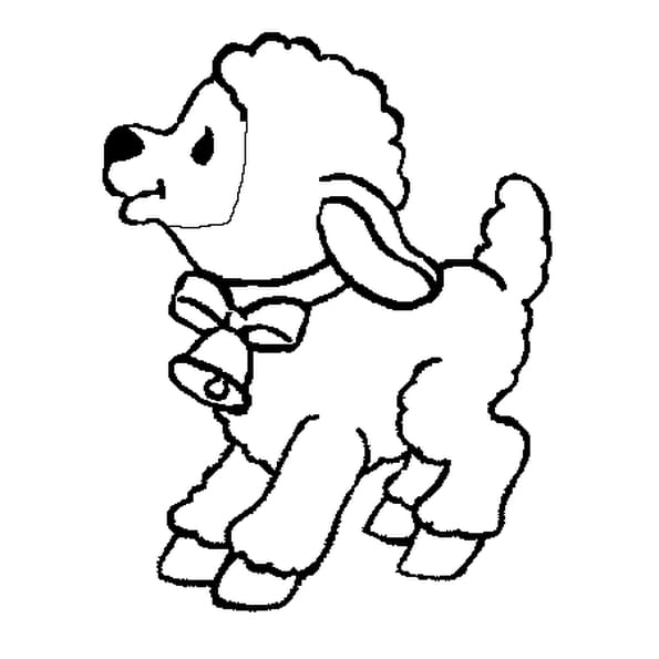 Coloriage b b mouton en ligne gratuit imprimer - Mouton en dessin ...