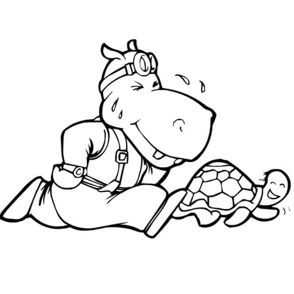 Animaux rigolos coloriage animaux rigolos en ligne - Dessin elephant rigolo ...