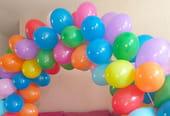 Fabriquer une arche en ballons