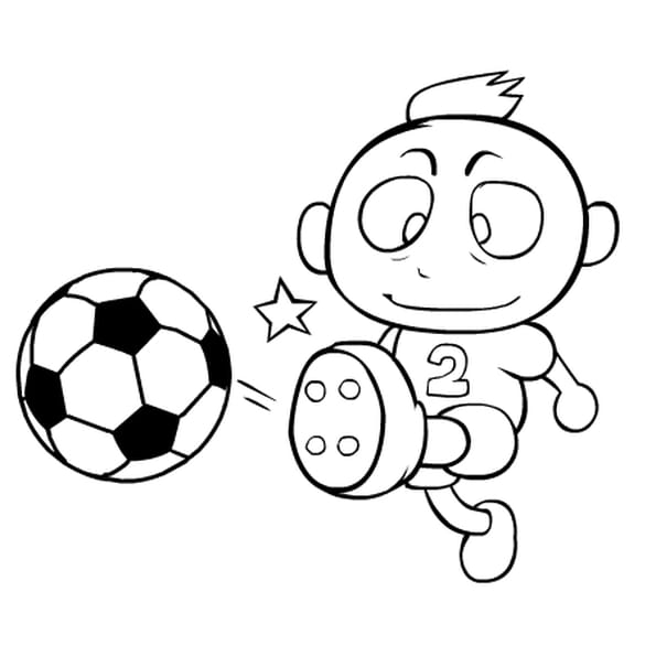 Dessin de football a imprimer - Dessins de football ...