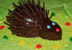 Gâteau d'anniversaire Gaston le Hérisson