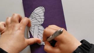 Étape 2: imprimez un papillon