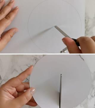 Étape 1: dessiner un cercle