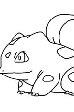 Coloriage Pokémon bulbizarre
