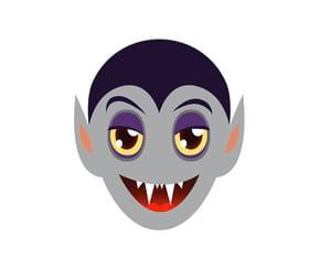 Masque de vampire pour Halloween