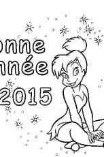 Coloriage Bonne Année 2015 en Ligne Gratuit à imprimer