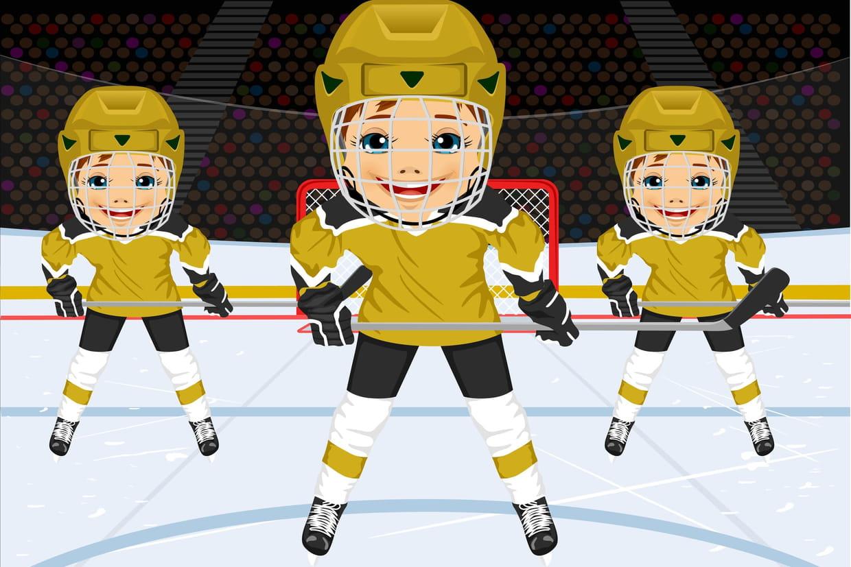Hockey sur glace - Dessin hockey sur glace ...